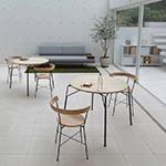 飫肥杉デザインプロジェクト アームチェア テーブル